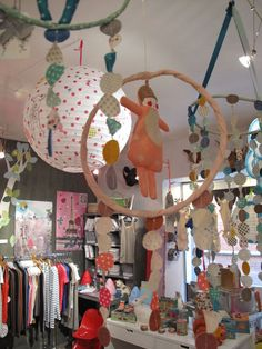 children's shop display via Pouic Land