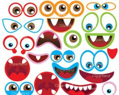 throw a monster eyes party printables pinterest monster eyes rh pinterest com Monster Mouth Clip Art monster eyes clipart