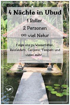 Wir hatten vier Nächte in Ubud / Bali Zeit um uns das Landesinnere der indonesischen Insel anzusehen! Wasserfälle, Reisfelder,Tempel und Canyons sind nur einige davon! Wir hatten eine unglaubliche Zeit dort und in diesem Reisebericht wollen wir euch von unseren Erfahrungen berichten!