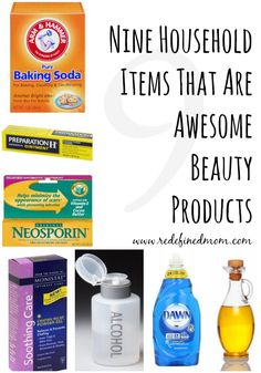 Did you know you have a supply of beauty products sitting in your pantry? Here are nine common household items that make awesome beauty products! Look beautiful and save money!! All Things Beauty, Beauty Make Up, Diy Beauty, Beauty Skin, Beauty Hacks, Beauty Dupes, Beauty Ideas, Household Items, Beauty Secrets
