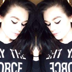 #bighair #makeup #mac #black
