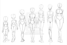 sorry about the bad quality but my scaner isn´t as good as he should be^^ part 3 will be about body drawing in motion. like fighting or something. female body shapes part 2 Drawing Body Poses, Body Reference Drawing, Art Reference Poses, Body Base Drawing, Drawing Female Body, Figure Drawing, Body Sketches, Anime Drawings Sketches, Anime Sketch