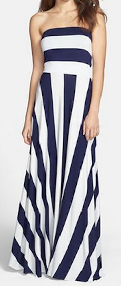Stripe convertible cover up maxi dress http://rstyle.me/n/gixf9nyg6
