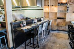 Gin Long Canteen – North Adelaide   Concept Collections   Classique Bentwood and Nevada Stools