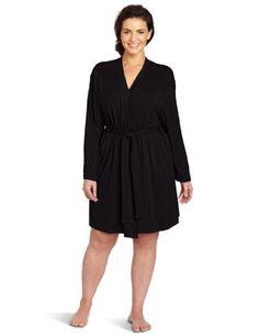 Casual Moments Women's Plus-Size Wrap Robe « Clothing Impulse