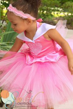 Sleeping Beauty Tutu Dress costume by SCbydesign on Etsy, $69.99