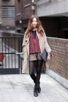 Streetstyle: Lee Seongkyeong shot by Kim Ro Gi