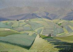 Rafał Malczewski (Polish, 1892-1965), Noon, 1926. Oil on canvas, 65 x 92 cm. National Museum, Warsaw.