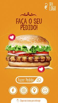 Food Graphic Design, Graphic Design Inspiration, Creative Posters, Social Media Design, Food Truck, Packaging Design, Hamburger, Dinner, Hamburger Menu