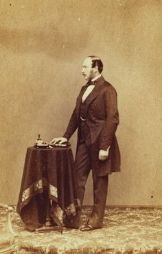 Portrait photograph of Prince Albert, Prince Consort (1819-1861), c. 1861 | Royal Collection Trust