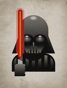 Darth Vader by Goran Patlejch / goenetix