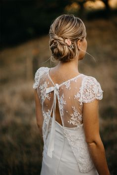 Le mariage champêtre de Valentine et Benoit dans la Drôme   Photographe : Gwendoline Noir   Donne-moi ta main - Blog mariage