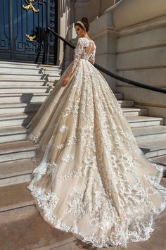Crystal Design Haute Couture 2017 Wedding Dress