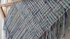 Barefootweaver: triangular scarf