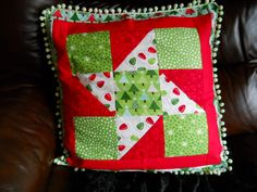 Patchwork Cushion Price Reduction from 20 to by ComfyCosyCrafts, $15.00