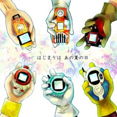 Day 22 Favorite Weapon, Gear, or Armor: Digivice that counts right! Who wouldn't want a Digivice and have their own Digimon Digital Monster