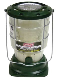 Coleman Citronella Mosquito Repellent Candle Lantern Burns Up To 50 Hours Bushcraft, Outdoor Candle Lanterns, Outdoor Supplies, Camping Supplies, Coleman Lantern, Lantern Designs, Old Candles, Citronella Candles, Citronella