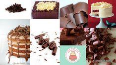 Raspas de chocolate são uma maneira de decorar o bolo ou cupcake de maneira rápida e fácil. Veja como fazer neste mini vídeo. Você vai precisar de: 1 barra de chocolate 1 descascador de legumes