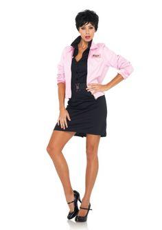 Pink Ladies Logo Jacket - Grease Official Licensed Costume