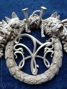 Patrick Damiaens | Bespoke wood carving | architectural Wood carving | Custom made carvings | http://www.patrickdamiaens.be | High end architectural wood carving