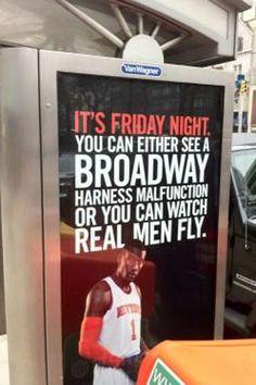 MSG Network Knicks ad