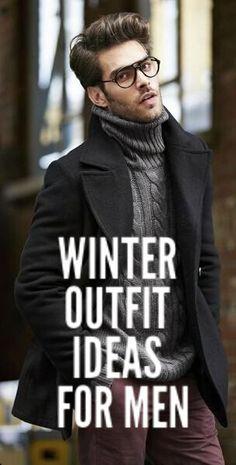 Winter Outfit Formulas For Men #mensfashion #fashion #style #fallfashion