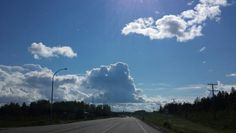 On the highway in La Ronge
