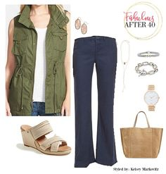 Utilitarian Trend - 3 Looks that Command Attention | Fabulous After 40