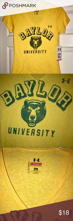 Under armour legacy Baylor University nwt Under armour legacy Baylor University nwt Under Armour Tops Tees - Short Sleeve