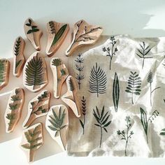 Photo shared by etsy on June 2017 tagging and Stamp Printing, Block Printing On Fabric, Block Print Fabric, Block Printing Designs, Linoleum Block Printing, Stamp Carving, Handmade Stamps, Fabric Stamping, Linoprint