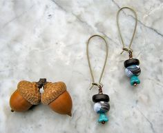 reading the tea leaves earrings . . . by marthasrubyacorn on Etsy, $26.00