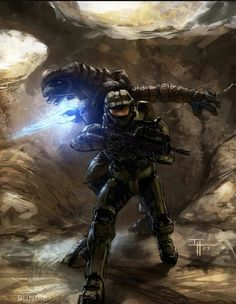 ArtStation - Assorted roughs for Halo 3 Promotional work and Manual covers, Isaac Hannaford Halo 3, Halo Game, Halo Reach, Video Game Art, Video Games, Cortana Halo, Halo Drawings, Halo Spartan, Halo Armor