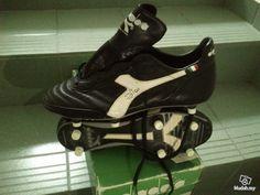 Vintage zico diadora soccer boots  - Image