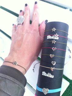 Bracciali cuore e stella coccolosi❤www.lumierebijoux.it