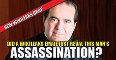 "There's an email from the recent Wikileaks drops that is causing a big stir on the internet.  It regards Supreme Court Justice, Anthony Scalia's death.  The email refers to his death and the ""bad night"" that will likely proceed.  Where it turns interesting is when one of the emailers uses the term ""wet works"" when discussing his actual death.  ""Wet Works"" is a euphemism for murder or assassination, alluding to spilling blood.  The expression ""wet work"", as well as the similar ""wet job"", ""wet…"