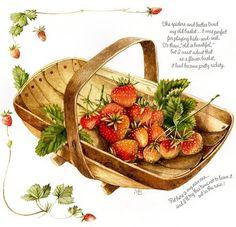 Плодово-фруктово-овощные картинки Marjolein Bastin. Обсуждение на LiveInternet - Российский Сервис Онлайн-Дневников