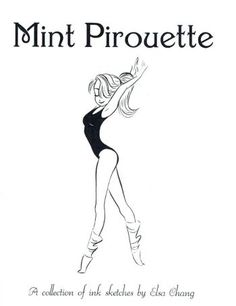 Sketchbooks :: Mint Pirouette: A Collection of Ink Sketches by Elsa Chang…