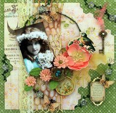 Sweet Robin **SCRAPS OF ELEGANCE** March Kit-Spring's Promise - created by Renea Harrison