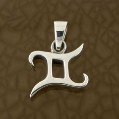 Gemini-Zodiac-Symbol-Pendant-in-Solid-Sterling-Silver-Symbolic-Charm