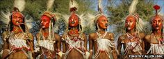 Male beauty pageant judged by women looking for potential partners...Gerewol in West Africa...amazing