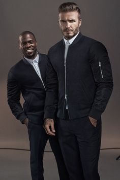 David Beckham + Kevin Hart Star in H&M Modern Essentials Campaign