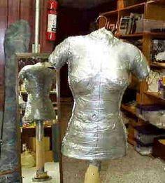 Come fare un manichino da sarta fai da te economico