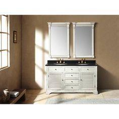 "James Martin Furniture Astrid 59.25"" Double Bathroom Vanity | Wayfair"