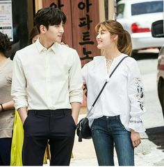 My one and only ji chang wook suspicious partner