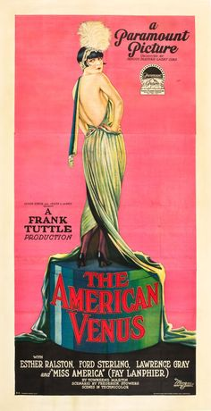 The movie has been lost for decades.  This is the only know poster to survive.  AND it features the iconic Louise Brooks
