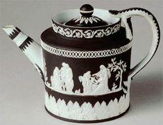 Théière Basalt Noir de Josiah Wedgwood  1775