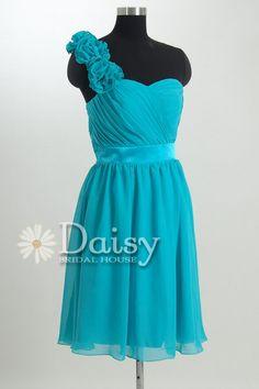 New Arrival Chiffon Bridesmaid Dress Short by DaisyBridalHouse, $79.00