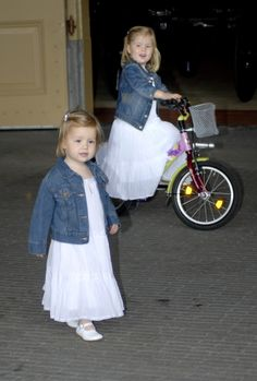 Royal Sisters... Princesses Amalia and Alexia... Daughters of King Willem-Alexander of Netherlands and Queen Maxima of Netherlands