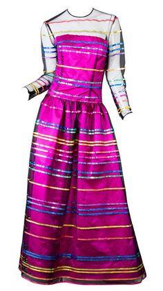 Dress Hubert de Givenchy, 1980s 1stdibs.com