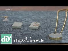 Okrasitev nakita iz cementa - YouTube
